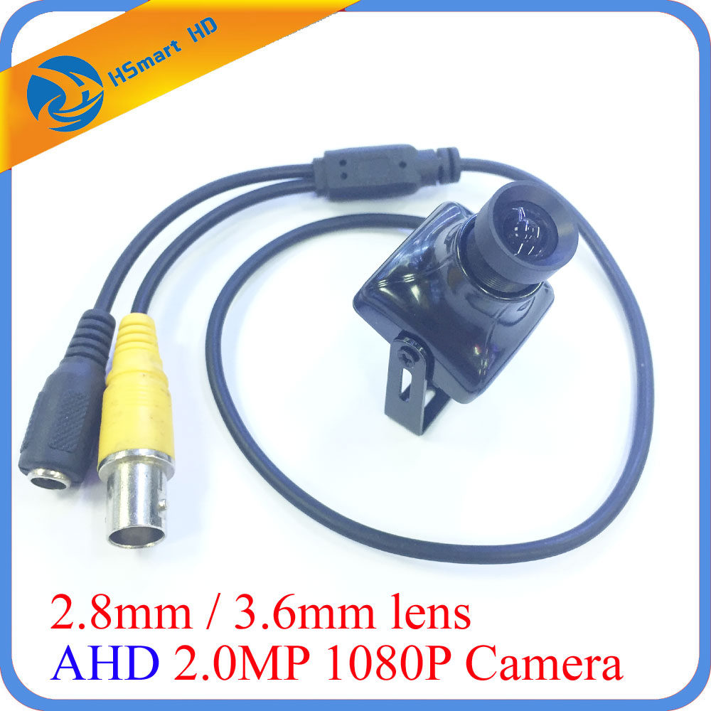 New mini AHD Analog High Definition Surveillance Camera 1200TVL AHD Mini 1080P AHD CCTV Mini FPV Camera Built-in OSD For AHD DVR ahd