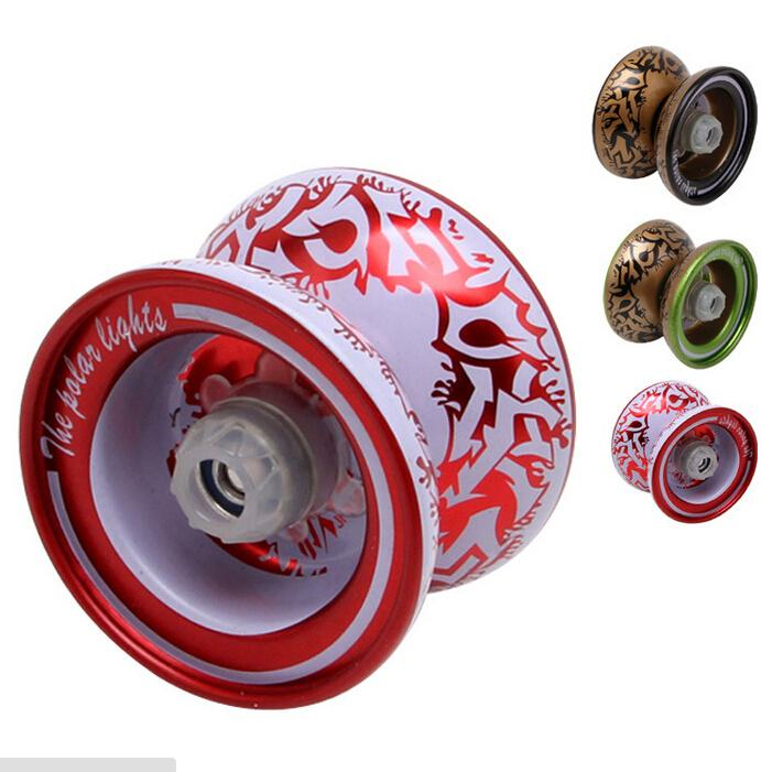 Cool Aluminum Design Professional YoYo Ball Bearing String Trick Alloy KidR G4