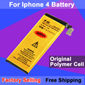 Brand New Good Quality 1420mAh Golden Mobile Phone Battery for iPhone 4 Battery Free Shipping