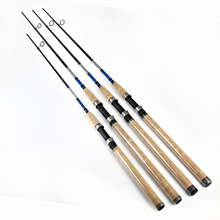 FTK High Quality 99% Carbon 2.1M 2.4M 2.7M 2 Section Soft Lure Fishing Rod Lure Weight 3-40g Spinning Fishing Rod For Lure Rod