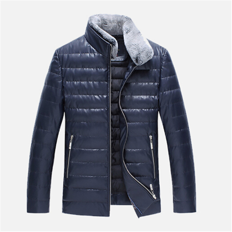 Autumn Winter New Fashion Brand Clothing Men Down Jackets Winter Jacket Men Sheep Skin Leather Mens Winter Jackets And Coats jxd 509w wifi fpv rc quadcopter rtf 2 4ghz with camera headless mode one key return christmas gift jxd 509 wifi version