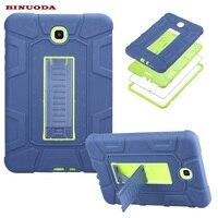 Novo Para Galaxy Tab 8.0 Caso Capa Híbrido Borracha Plastic + Silicone Caso À Prova de Choque para Samsung Galaxy Tab 8.0 SM-T355 SM-T350