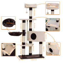 Greatly Selling Pet Climbing Toy Cat Kittens Tree Six Floors Stable and Comfortable Easily Assemble High Quality Funny