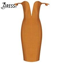 INDRESSME Sexy Deep V Off Shoulder Mini Split Women Bandage Dress Fashion Backless Bodycon Spring Women Dress Vestidos 2018 New