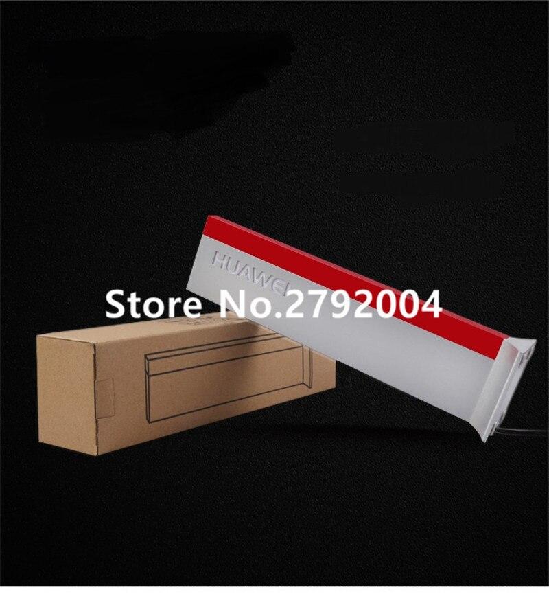10 pcs lote logotipo mesa vertical indicador cartao cartao de guia de acrilico com luz para