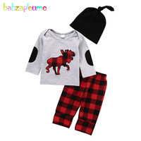 3PCS Set 2017 Spring Baby Clothing Child Tracksuits Newborn Boys Clothes Suit Girls Baby Outfits Tops