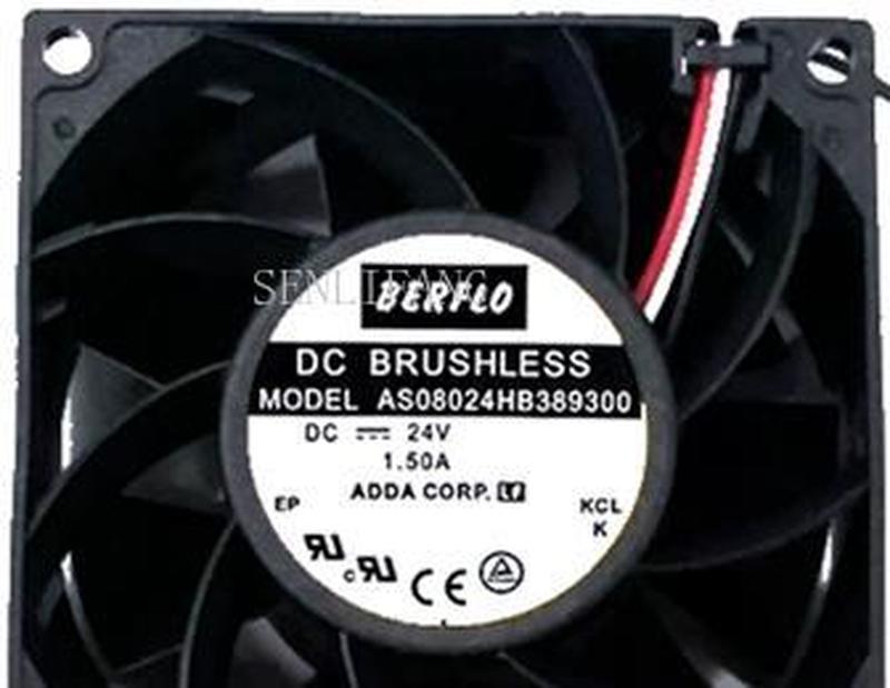 8CM AS08024HB389300 24V 1.5A Ultra Violent Super-fast Server Fans
