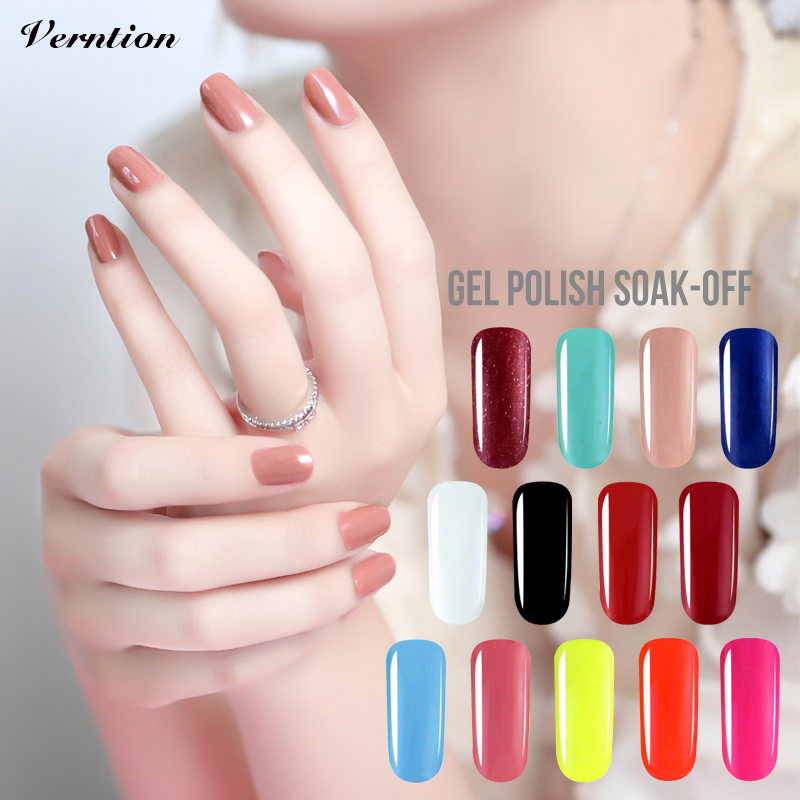 verntion colored acrylic nail art