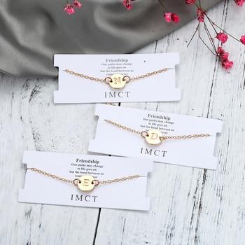 Fashion Gold Color Letter Bracelet & Bangle