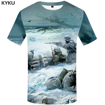 Funny T shirts War T shirts Men Russia Print Military Tshirt Printed Character Tshirts Casual Snow T shirt 3d Mens Clothing New men s t shirt mexico kolovrat symbol tshirt legend of kolovrat sparta warrior white t shirt cool 3d print movie t shirts russia