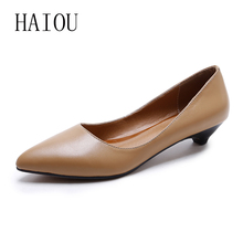 2017 Spring Woman Flats High Quality Suede Shoes Genuine Leather Casual Comfortable Pointed Toe Shoes Rubber Black Boat Shoes