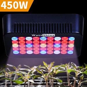 Image 1 - Büyümek Işık 300 W 450 W Tam Spektrum Kapalı Bitki Lamba Bitkiler Vegs topraksız sistem Bitki kapalı bitkiler için Işık çift Çip