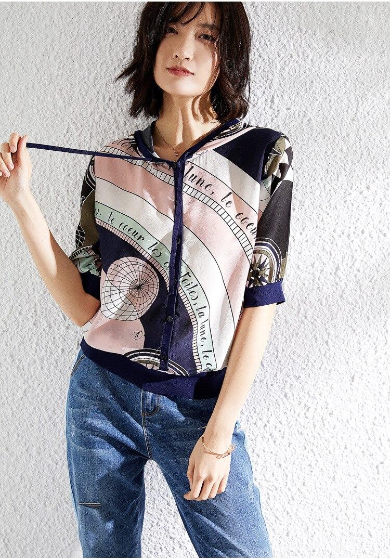 Harajuku sweat-shirt en soie Vs rose femmes Hoodies pull vêtements d'extérieur décontractés femmes chapeau dames hauts d'été à manches courtes za vêtements