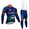 Winter Neue VINI TEAM Lange ärmel Radfahren JERSEY Bike Hosen set herren Ropa Ciclismo Thermische Fleece radfahren Maillot Culotte|Fahrrad-Sets|   -