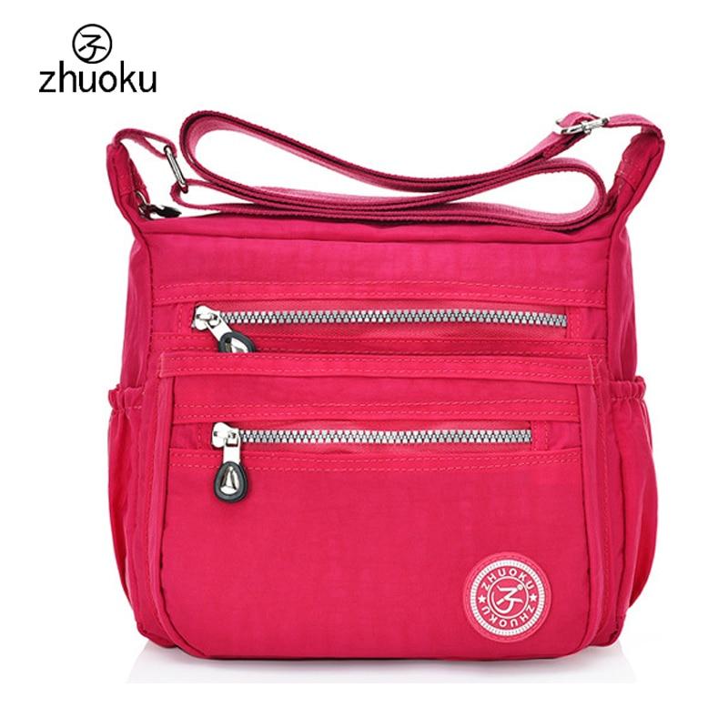 FIREBIRD!2015 new Korean fashion women shoulder bag Waterproof nylon bag Shoulder Messenger Multilayer bags women bag H162