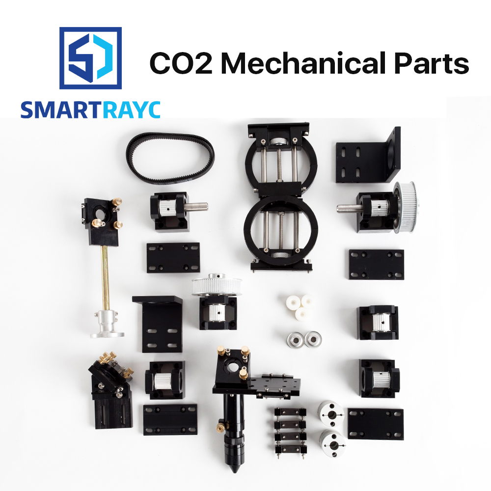 Smartrayc CO2 Laser Mechanical Parts Metal Components for DIY CO2 Laser Engraving Cutting Machine Model B co2 laser head set co2 laser metal parts co2 laser path use for laser cutting and engraving machine