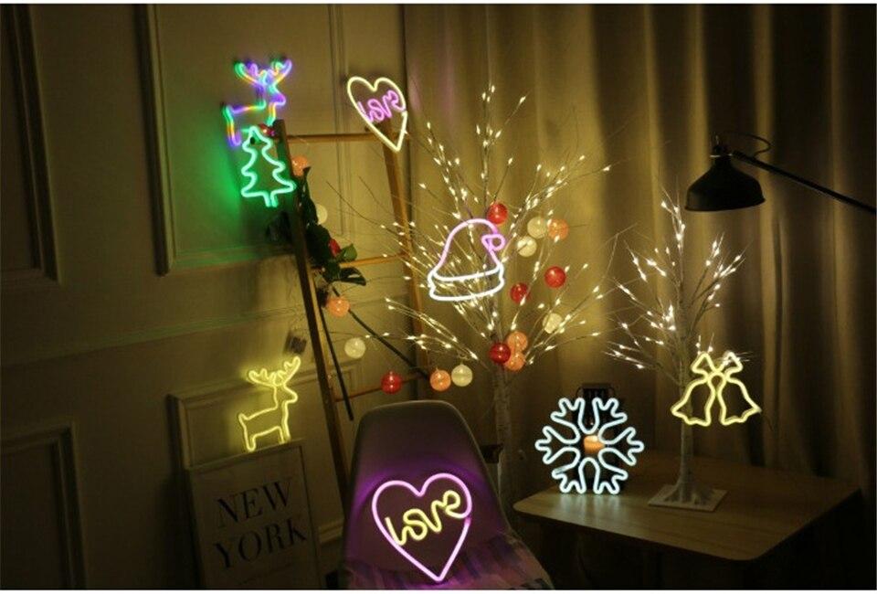 festival natal decoração moderna interior branco quente