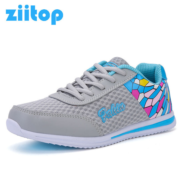 2017 New Summer Zapato Women Breathable Mesh Zapatillas Shoes For Women Network Soft Running Shoes Outdoor Flat Sneakers Women