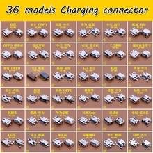 36 modelle micro usb jack stecker gemeinsame verwendet lade port für Nokia Xiaomi lenovo zte huawei oppo andere handys, tabletten