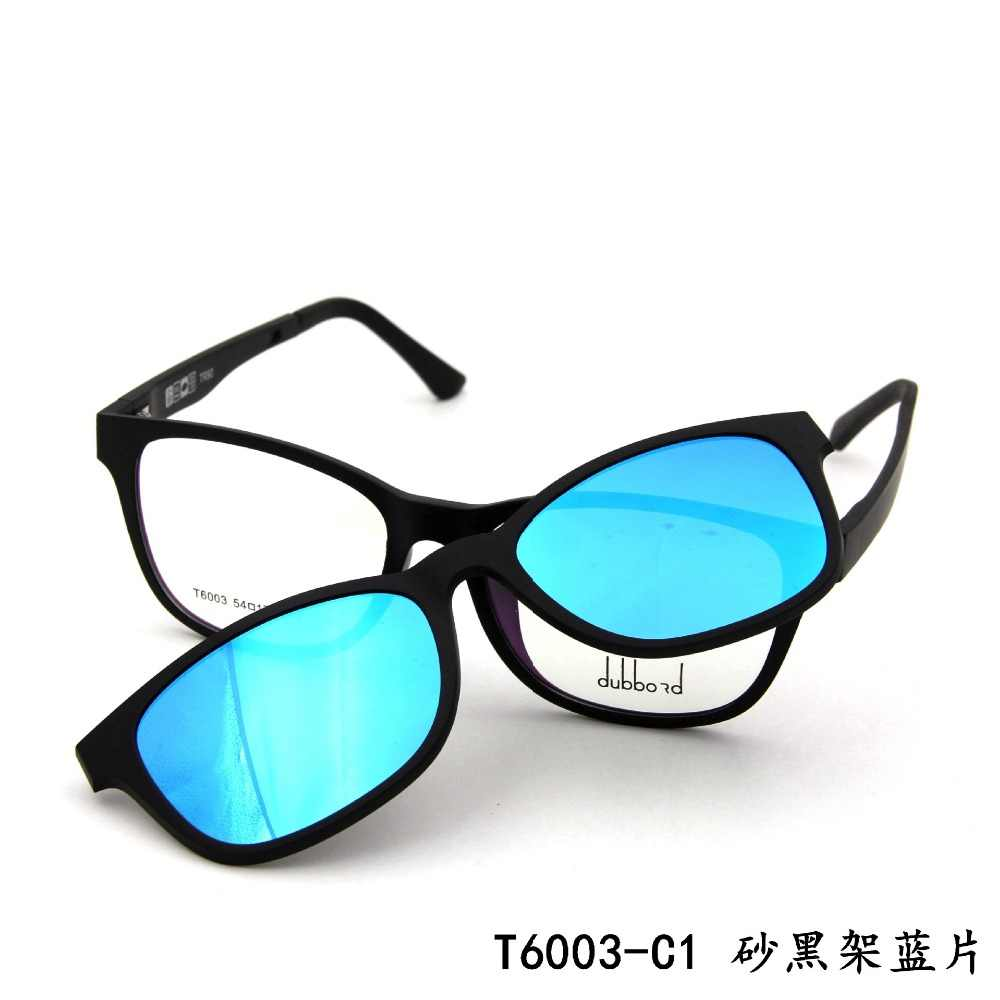 6bfb7b4784 ... Ultem Ultra Light Myopia Eyeglasses Frame Polarized Magnetic Clip  Glasses Driving Clip on Magnet Sports Spectacles