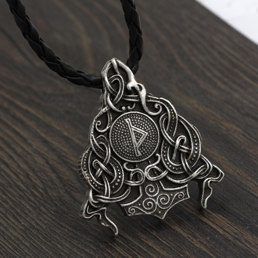 p trendy chain men antique boys necklaces leather machine model for alloy arms girls in productgfx warrior women arrival necklace newest gun pendant img