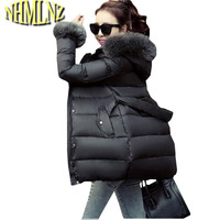 Warm Winter Jacket New Style Thick Duck Down Down Jacket Slim Large Size Leisure Coat High