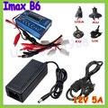 Imax B6 Digital RC Lipo NiMh Battery Charger Balance + AC 12 v 5A adaptador gota
