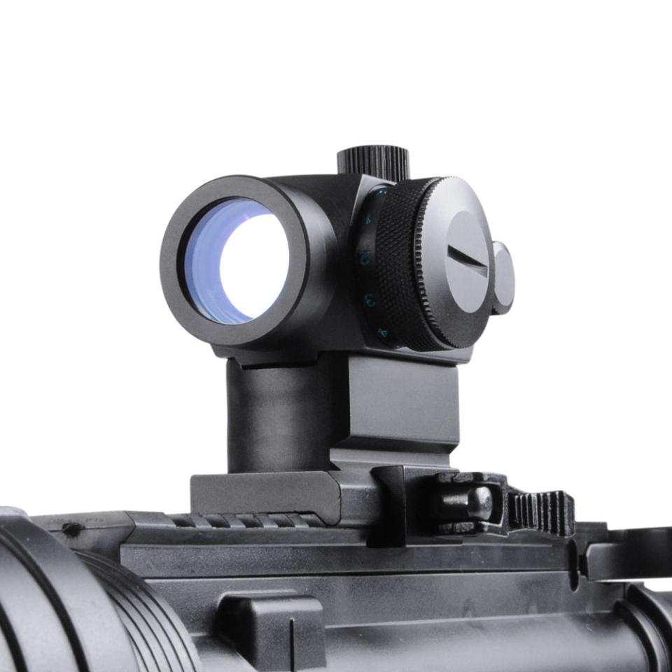 QD High Red Green Dot Holographic Sight Riflescope Quick Detach with 20mm Mount Rifle Scope for Picatinny and Weaver Rail System accu new quick release heighten mount for 20mm rifle weaver rails black