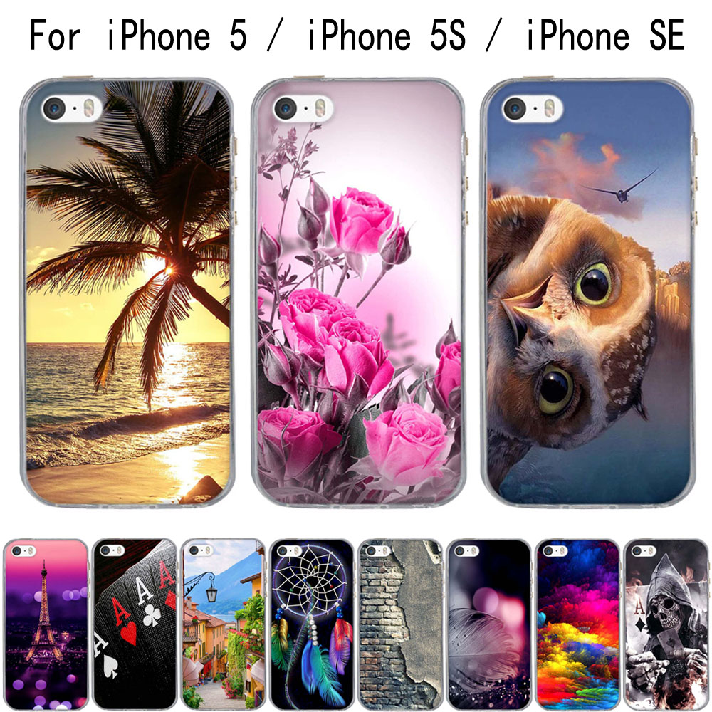 reputable site 6772a db8c7 IPhone 5 6 7 8 Case 3D Capa For on iPhone 5S 6s 6 7 8 Case