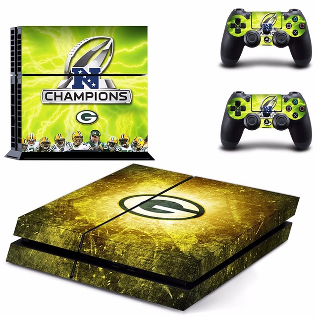 green bay packers ps4 skin