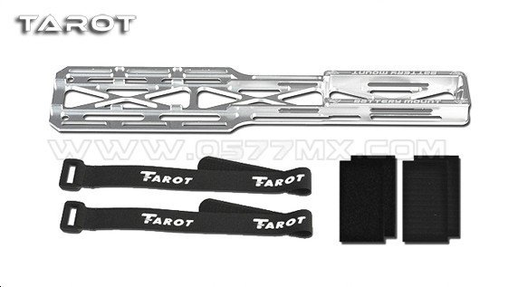 Tarot 600 PRO Metal Battery Holder Mount TL60215-01 For 600E PRO /600EFL PRO 600PRO RC Helicopter upgrade  laete 60215 2