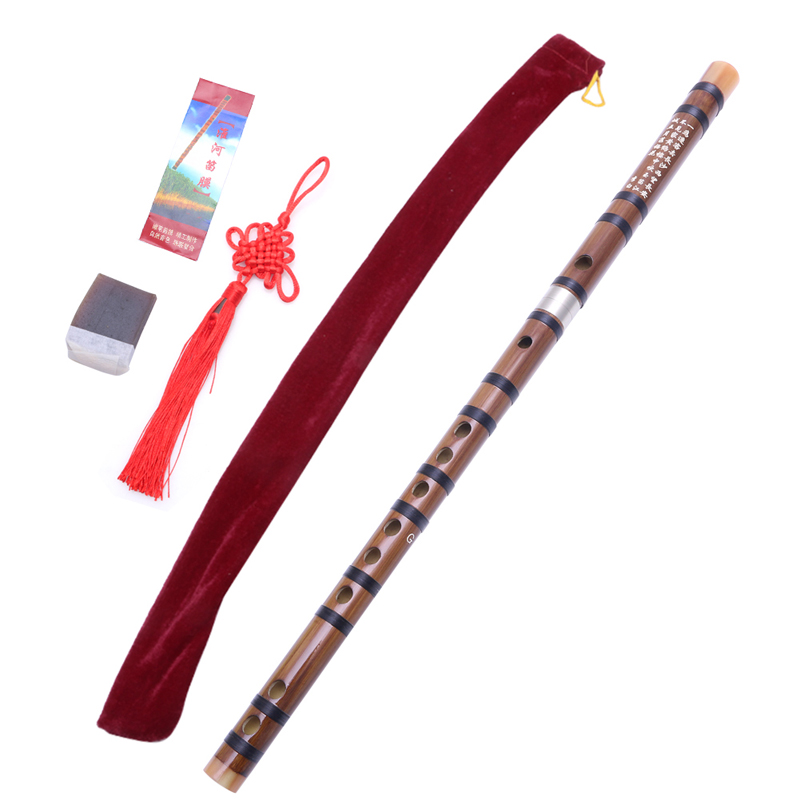 Musical Accessories Pluggable Chinese Traditional Handmade Musical Instrument Bamboo Flute/Dizi In G N10 dropship