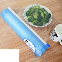 Kitchen Tool Plastic Food Wrap Cling Film Dispenser Aluminum Foil Wax Paper Cutter Cutting Box Non