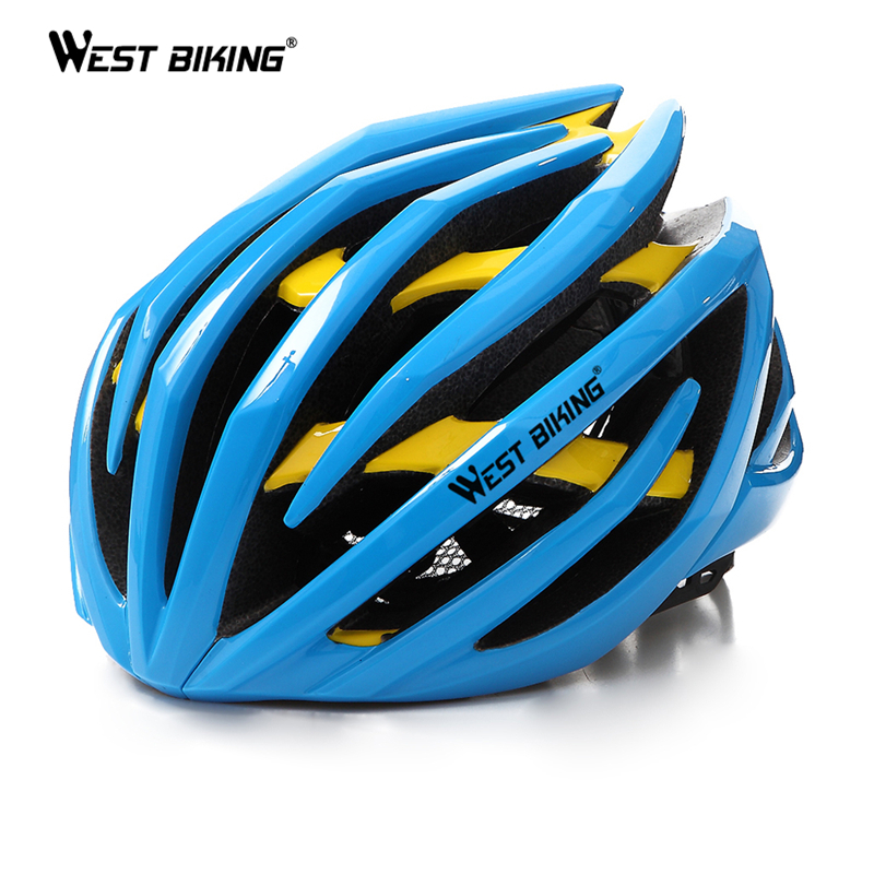 WEST BIKING Cycling Men's Women Helmet EPS Two Layers MTB Mountain Absorb Sweat Insect Nets Comfort Safety Cycle Bicycle Helmet цена и фото