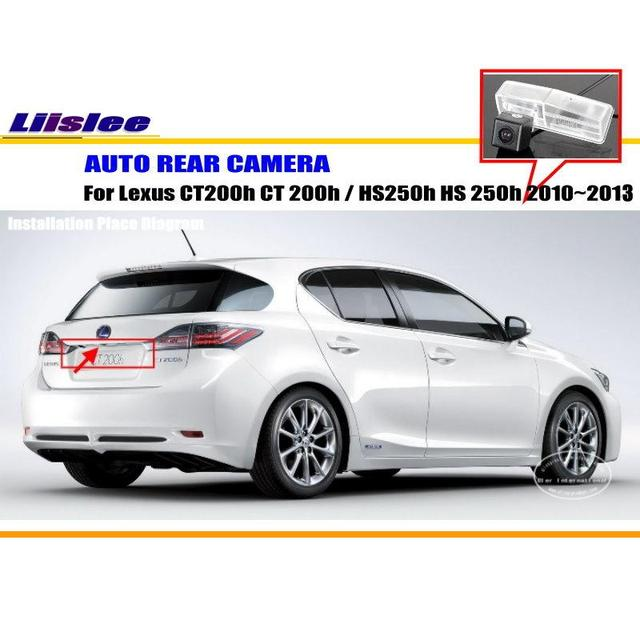 Liislee Car Camera For Lexus Ct200h Ct 200h Hs250h Hs 250h 2010 2017 Rear View Ntst Pal License Plate Lamp Oem