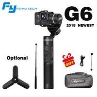 FeiyuTech Feiyu G6 3 оси ручной Gimbal стабилизатор для экшн камер Gopro 6 5 4 RX0 xiaomi yi 4 k Wifi синий зуб OLED Экран
