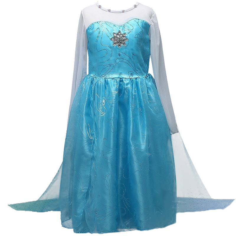 New Christmas baby girl clothes For Summer girls Dress princess party dress Anna Elsa Cosplay Clothes dresses oem 1pcs lot iphone 4s 4gs