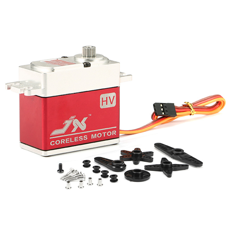 New Arrival JX Servo PDI-HV7232MG 30KG Large Torque 180 Degree High Voltage Digital Servo For RC Helicopter Parts superior hobby jx pdi hv5212mg high precision metal gear full cnc aluminium shell high voltage digital coreless short servo