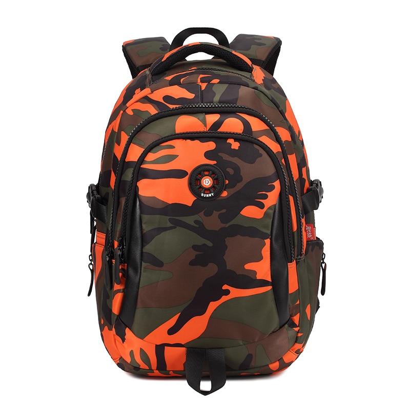 Camouflage Printting Children School Bags for Boys Randoseru Waterproof Nylon School Backpack Kids Bag mochila infantil
