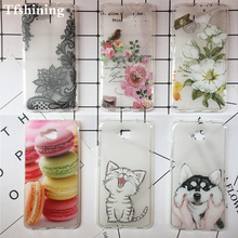 New Phone Case For Huawei Honor 5C Russian Version Silicone TPU case Cover 5c No Fingerprint Hole Coque
