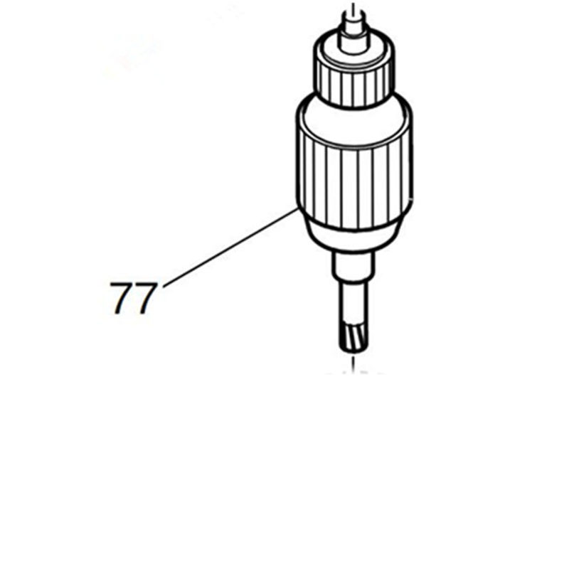 Armature 518622-7 Rotor 220-240V For Makita 2106