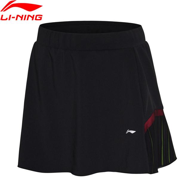 Li-Ning Women Badminton Skirt Shorts AT DRY National Team Sponsor Regular Fit Breathable LiNing Sports Skirts ASKN028 WQB1028