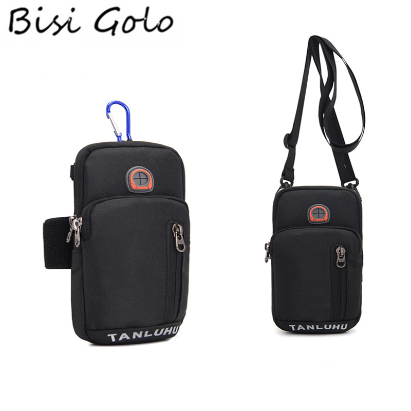 BISI GORO 2019 Travel Passport Cover Card ID Holder Neck Hanging Storage Clutch Arm Bag Jogging Multifunction Credit Card Cases