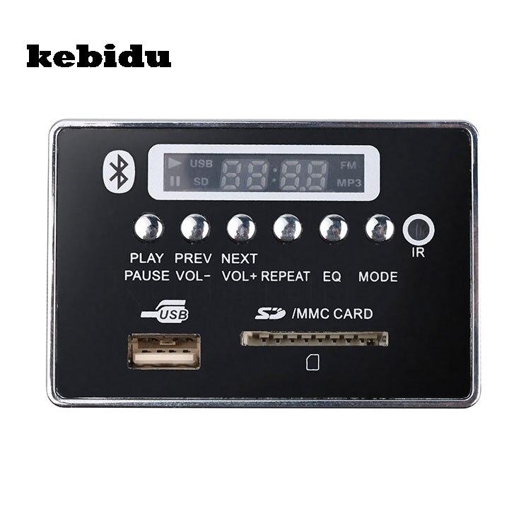 Honig Kebidu Bluetooth Freisprecheinrichtung Usb Mp3 Player Integriert Mp3 Decoder Board Modul Fernbedienung Usb Fm Aux Radio Für Auto KöStlich Im Geschmack Hifi-geräte