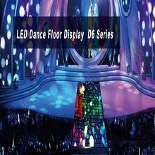 Специальный дизайн серия d6 СВЕТОДИОДНЫЙ танцпол используется