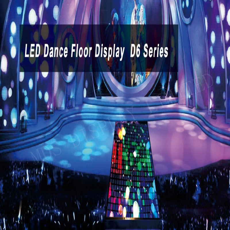 Special Design D6 Series LED Dance Floor Display ,use For  Physcial Education Venues,commercial Real,estate,night Bar,theme Park