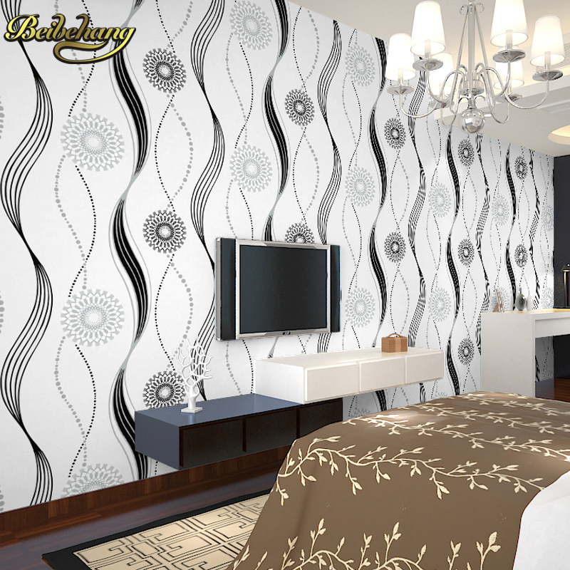 beibehang wall murals Sun flocking wall paper mural vinyl home decor bedroom living room papel de parede 3D wallpaper for wall custom children wallpaper multicolored crayons 3d cartoon mural for living room bedroom hotel backdrop vinyl papel de parede