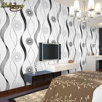 beibehang wall murals Sun flocking wall paper mural vinyl home decor bedroom living room papel de parede 3D wallpaper for wall