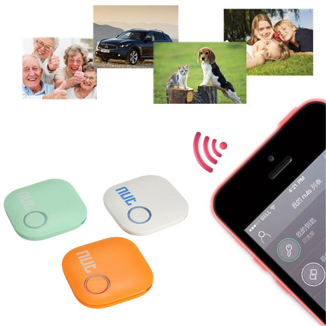 Smart Finder Smart Wireless Bluetooth 4.0 Tracer GPS Locator Tracking Tag Alarm Wallet Key Pet Dog Tracker