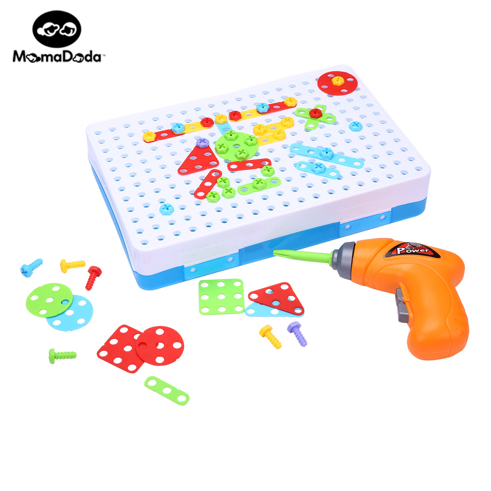 3D Puzzles Mosaic Model Building Kits Toys For Children Magic Puzzle Plastic Toys For Kids Art Creative DIY Board Gift Building